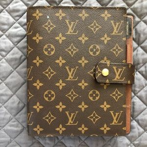❤️ AUTHENTIC LOUIS VUITTON GM AGENDA